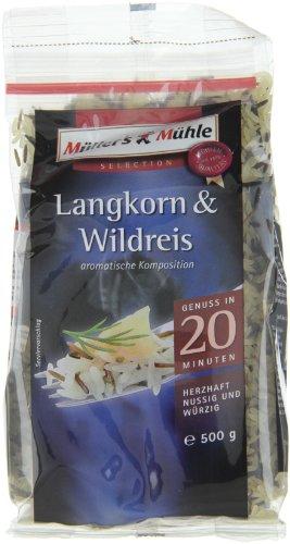 Müller\'s Mühle Langkorn & Wildreis, 6er Pack (6 x 500 g)