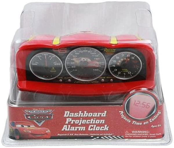 Disney Pixar Cars Dashboard Projection Alarm Clock Cars Alarm Clock