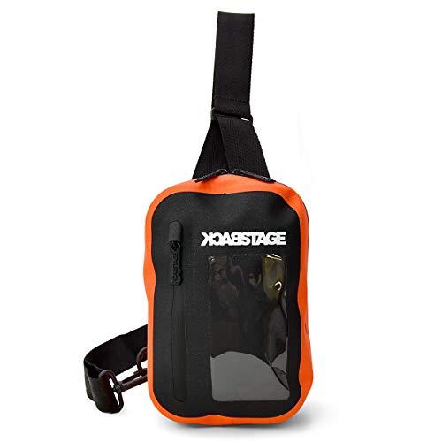 防水 ワンショルダー バッグ [プレックス] ボディバッグ バック 止水ファスナー ボディバック メンズ オレンジ