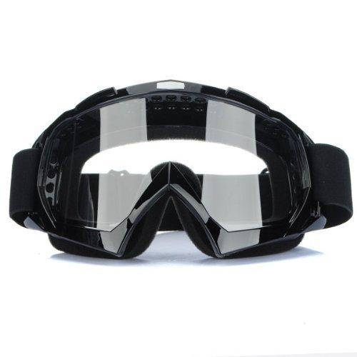 Gearmax® Motocross Vidrios a Prueba de Viento Transparente UV Goggle Prueba de Polvo