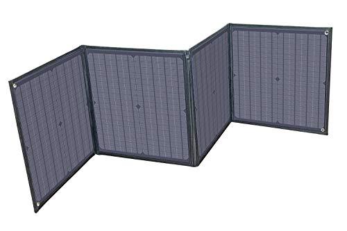 画像: アウトドアや非常時に便利な折り畳み式のソーラーパネル