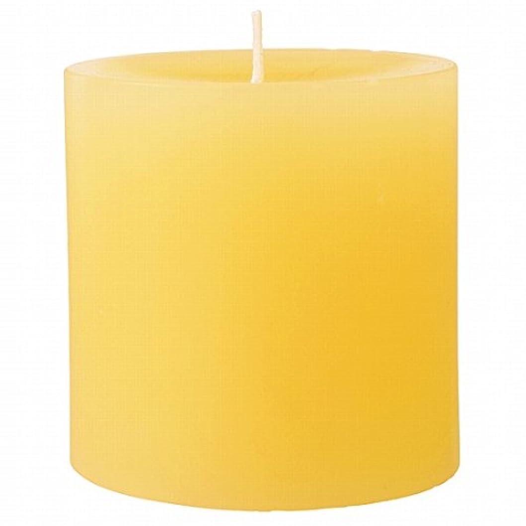 討論染料バンドカメヤマキャンドル(kameyama candle) 75×75ピラーキャンドル 「 アイボリー 」