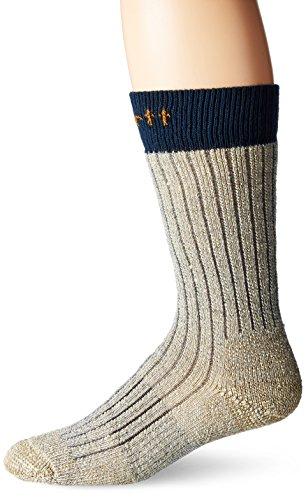 Carhartt Men's Steel Toe Arctic Wool Boot Sock, Navy, Shoe Size: 6-12