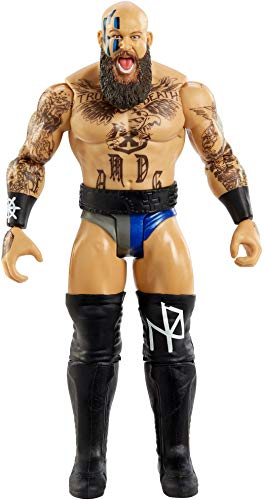 WWE Erik Action Figure Series 118 Action Figure Posable 6 in Collectible for Ages 6 Years Old and Up