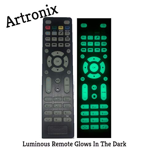 Artronix Luminous Ersatz Fernbedienung für TV Box Mag254 Mag250 Mag256 MAG 250 254 256 255 256 257 275 322 349 350 351 352 OTT IPTV Set Top Box