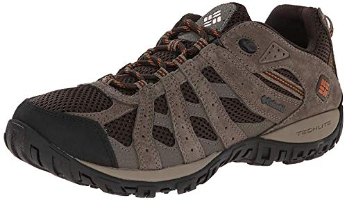 Columbia mens Redmond Low Shoe Hiking Boot, Cordovan, Dark Ginger, 13 US