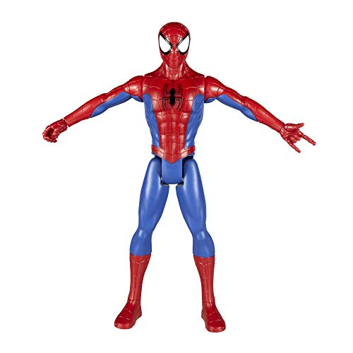 Marvel Spiderman – Figurine Titan Marvel Spiderman –  Spiderman - 30cm
