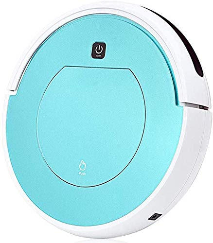 Nettoyage Robot Intelligent Robot Aspirateur Balayer for Home Filter Cleaner Dust Mini Robot appareils Cleaner Portable, Bleu KaiKai (Color : Blue)
