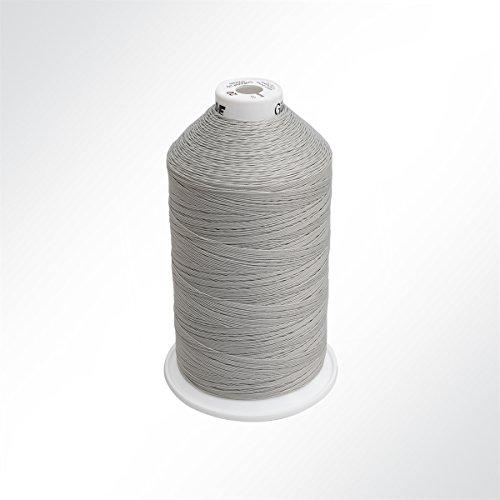 Gütermann Solbond - bondeerde polyester speciale naaigaren No./Tkt. 20, 1500 m, lichtgrijs
