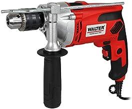 WALTER Schlagbohrmaschine (910 Watt, elektr. Drehzahlregelung, mit zweiten Handgriff, Tiefenanschlag, max. Bohr-Ø: Holz: 2...