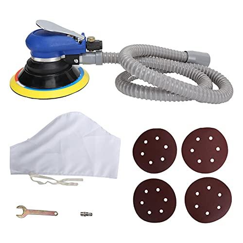 Les-Theresa Amoladora neumática Tipo de vacío Encerado Pulidora Lijadora de aire Mejoras para el hogar