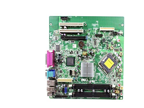 Genuine DELL Intel Q43 Express Chipset w/ICH10D LGA775 Socket Motherboard For the Optiplex 760 Mini-Tower System Part Numbers: M858N, G214D (Certified Refurbished)