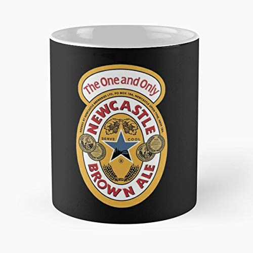 Newcastle Brown Ale Classic Mug - Funny Gift Coffee Tea Cup White 11 Oz The Best Gift For Holidays.