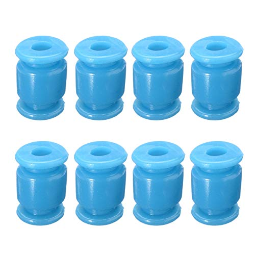 HUANRUOBAIHUO-HAT 8pcs Anti-Vibrations-Gummi-Stoßdämpfer Kugel Suspension Ball Shock Damping Ball for Flugsteuerung Quadrocopter Zubehör