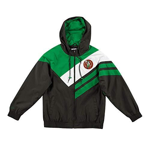 Mitchell & Ness Asymmetrical Blocked Jacket Boston Celtics 4XL Green