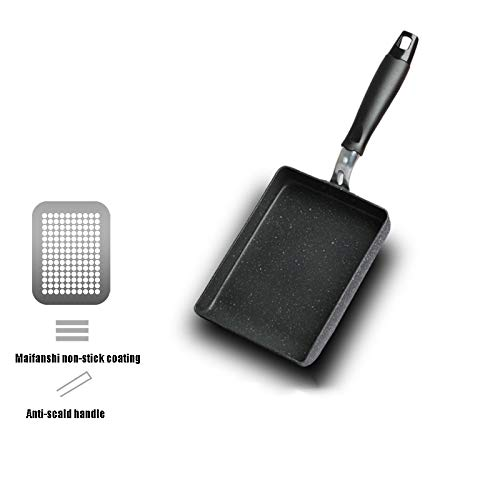 NAN Yuzi Yaki-Yaki Sushi Dickes Ei Okonomiyaki Antihaft-Maifan Stein quadratische Pfanne Mini-Mini-Pfanne (Farbe : 2)