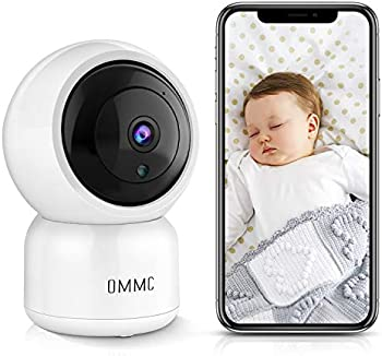 OMMC 1080P Home IP Camera Baby Monitor with Night Vision