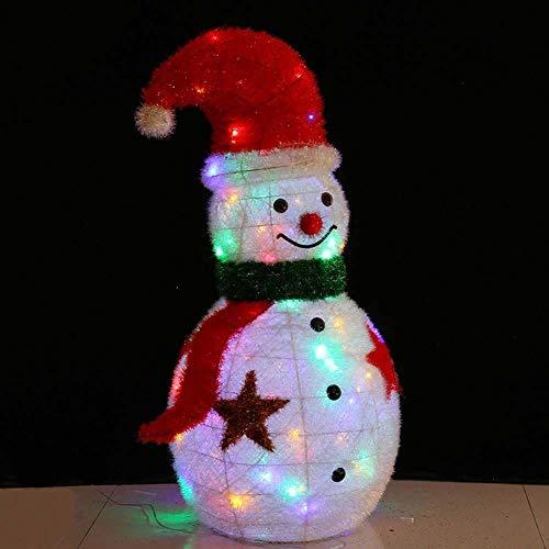LYYAN Best Luminosa Stella Pupazzo Neve LED Figura con...