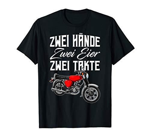 Zwei Hände Simson-S51 Tshirt