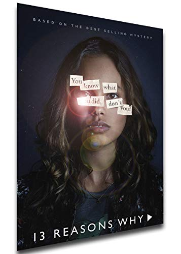 Instabuy Poster - TV Series - Playbill - 13 Reason Why Variant 03 A4 30x21