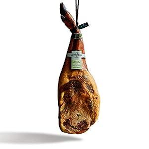 Paleta Ibérica de Cebo de Campo Monte Nevado | Natural (Sin Gluten, Alérgenos ni OGM) | Peso Mín. 4,5kg | Curación Media 27 Meses | Paletilla Cerdo Ibérico