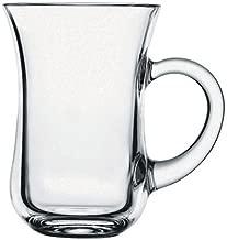 Paşabahçe 6 lı Cam Kulplu Keyif Çay Bardağı