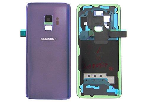 Funda teile24 Original Samsung Galaxy S9g960F Tapa Trasera Batería Tapa Cover Purple Lila GH82–15865b