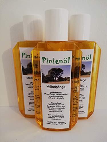 Pinienöl, Holzöl und Holzpflege, 200ml, hochwertige und natürliche Öle, 3er Pack