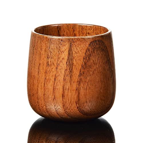 Chuanhao Copa de vino de madera hecha a mano para uso doméstico