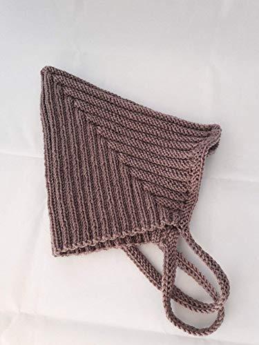 Babymütze, Zwergenmütze, Pixie-Mütze, handgestrickt, Schurwolle (Merino), Größe und Farbe wählbar