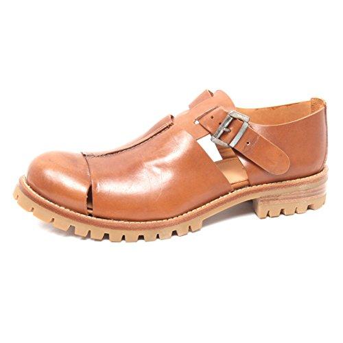 B2960 scarpa uomo DONDUP SENZA SCATOLA SANDALO cuoio shoe man without box [42]