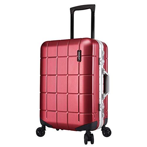 Equipaje de almacenamiento Maletín de aluminio Portaobjetos de viaje Portaequipajes Maletas con equipaje TSA Cerradura Hardshell Ligeros de mano para el equipaje Maletas giratorias silenciosas Ruedas