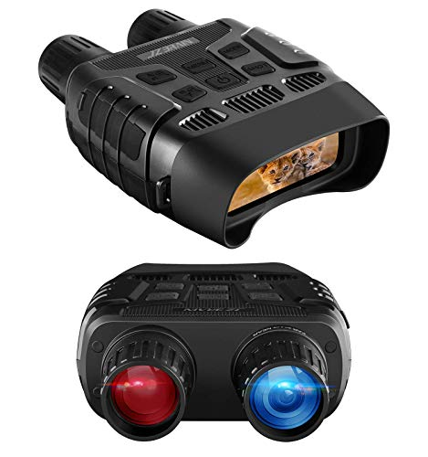 Night Vision Binoculars for Hunting,Digital Infrared Goggles for Viewing 984ft//300M in Full Darkness with WiFi Hotspot and APP Function,Take HD Image/&960p Video for Surveillance