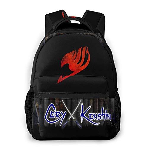 Coryx-Kenshin - Mochila con impresión 3D para jóvenes