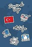 Diario de Viaje Antalya: Diario de Viaje | 106 páginas, 15.24 cm x 22.86 cm | Para acompañarle durante su estancia.