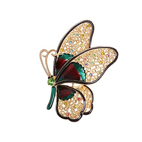 Brosch kläder accessoarer kreativ tjusig vintagestil smycken hänge för halsdukar sjalar ponchos bröllop