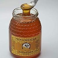 Miel de la Sierra de Ávila Envasada Directamente de Apicultor, 100% española. 1 kilo Neto. Natural y Pura.