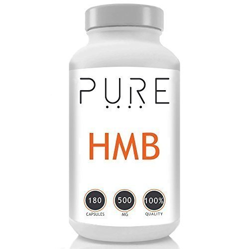 Bodybuilding Warehouse Pure HMB Capsules from Leucine 500mg - Amino Acid Supplements - Lean Muscle Growth & Recovery - 240 Caps