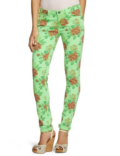 One Green Elephant Damen Jeans Normaler Bund HO3132/100, Gr. 38 (M), Grün (50053)