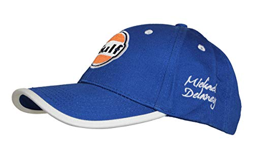 GULF Vintage Michael Delaney Baseballcap, Grand Prix Originals