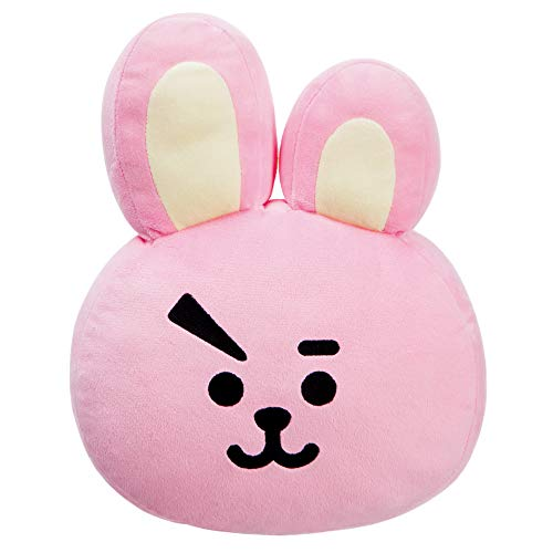 BT21 Official Merchandise, Cooky Plush Cushion 61342, Rosa