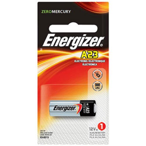 ENERGIZER Watch/Electronic Battery, Alkaline, A23, 12V, MercFree, Sold as 1 Each