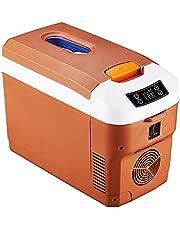 SDWCWH Refrigerador Portátil para Coche Frigo Portatile12V / 24V Frigorifero Portatile, Frigo Da Campeggio DC Mini 8 L Frigo Auto Frigo con Pantalla para Conducir Viajes Pesca Al Aire Libre Hogar