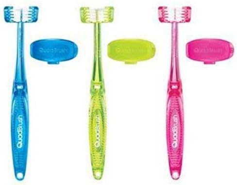 Bamboo QuadBrush Ultimate Cat Toothbrush with Award-winning store - Max 72% OFF Assorted Holder