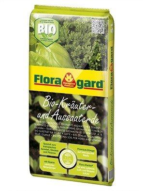 Floragard Bio Kräuter- und Aussaaterde 5 L