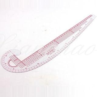 SUPVOX 3 piezas de costura regla de costura francesa curva de la regla regla de moda conjunto plantillas de dibujo plantilla para coser dise/ño