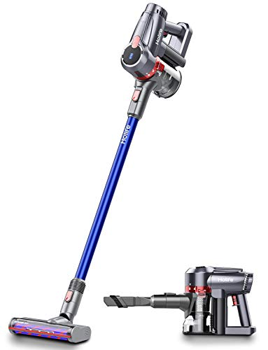 Holife Cordless Vacuum Cleaner, 20Kpa Powerful Suction 4 in 1 Stick Handheld Vacuum, 45Min Long-Lasting & 220W Brushless Motor Hand Vacuum with LED Headlights for Home Hard Floor Carpet Car Pet