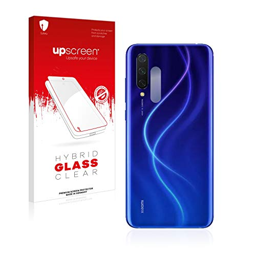 upscreen Hybrid Glass Panzerglas Schutzfolie kompatibel mit Xiaomi Mi 9 Lite (nur Kamera) 9H Panzerglas-Folie