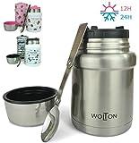 Wenburg Conteneur Isotherme Wolton de 450 ML I Récipient pour Nourriture Premium...