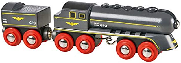 BRIO World - 33697 Speedy Bullet Train | 2 Piece Train Toy for Kids Ages 3 and Up